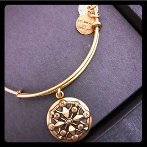 NEOT Alex and Ani Compass Bracelet